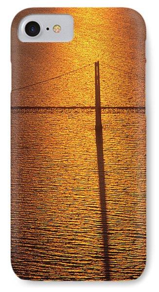 Mackinac Bridge At Sunset, Mackinac IPhone Case