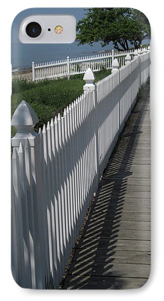 Mackinac Island Boardwalk IPhone Case