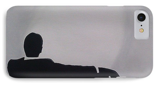 Mad Men In Silhouette IPhone Case
