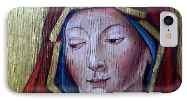 Madonna Of Peace IPhone Case