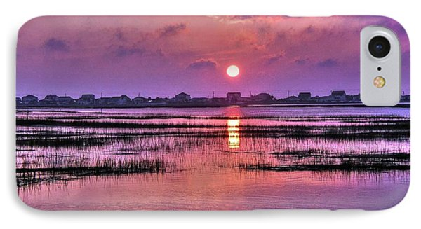 Magenta Sunrise IPhone Case