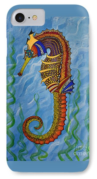 Magical Seahorse IPhone Case