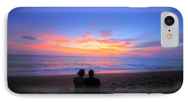 Magnificent Sunset With Couple IPhone Case