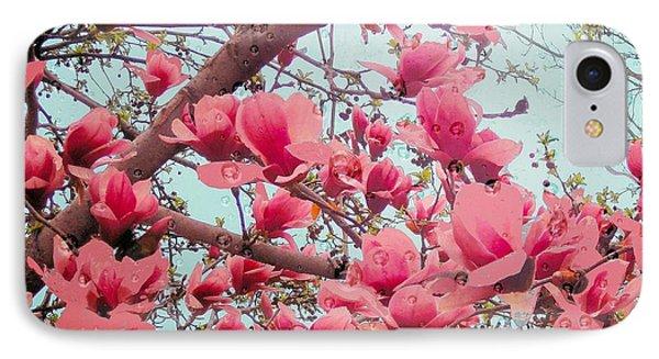 Magnolia Blossoms In Spring IPhone Case