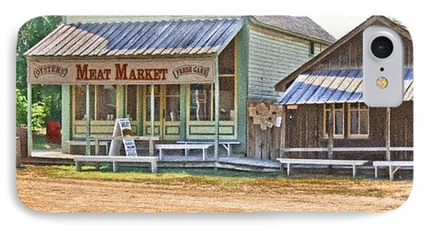 Main Street Meat Market IPhone Case