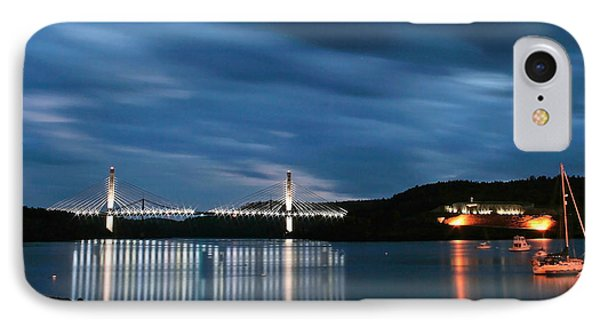 Maine Bridge And Fort Knox  IPhone Case