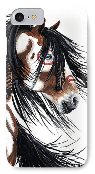Horse iPhone 8 Case - Majestic Pinto Horse by AmyLyn Bihrle