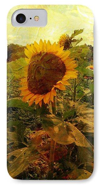 Majestic Sunflower  IPhone Case