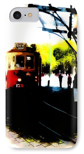 Make Way For The Tram  IPhone Case