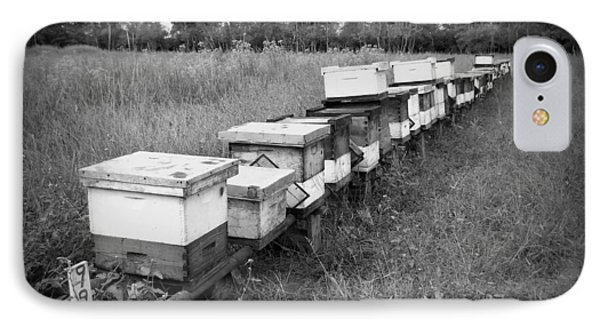 Making Honey II Bw IPhone Case
