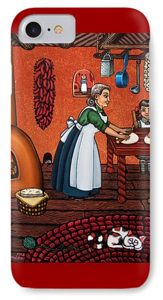 Making Tortillas IPhone Case