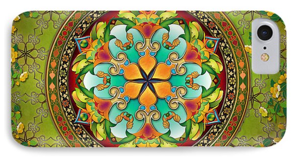 Mandala Evergreen Sp IPhone Case
