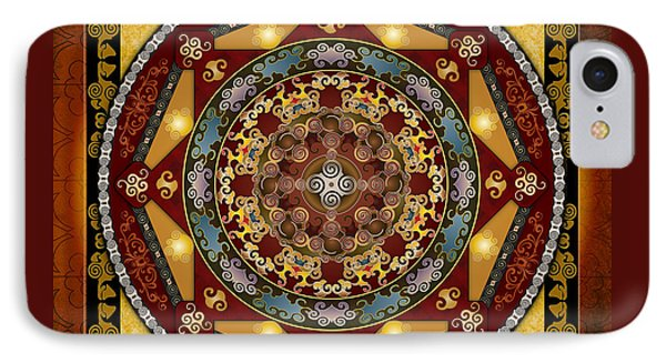 Mandala Oriental Bliss IPhone Case