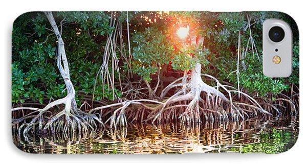 Mangrove Sunset IPhone Case