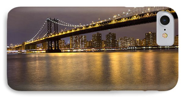 Manhattan Bridge Lights  IPhone Case