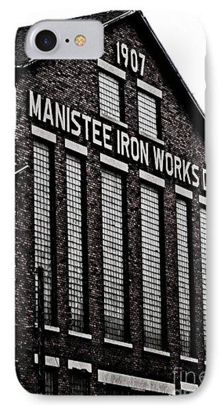 Manistee Iron Works IPhone Case