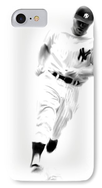 Mantles Gate  Mickey Mantle IPhone Case