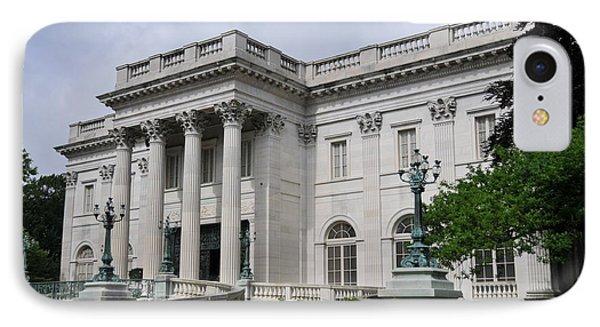 Marble House  --  Newport Rhode Island  IPhone Case