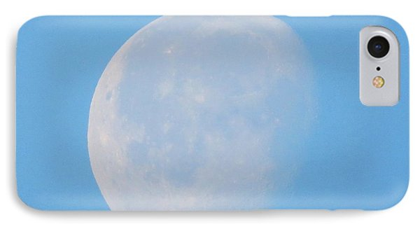 March Daytime Moon IPhone Case