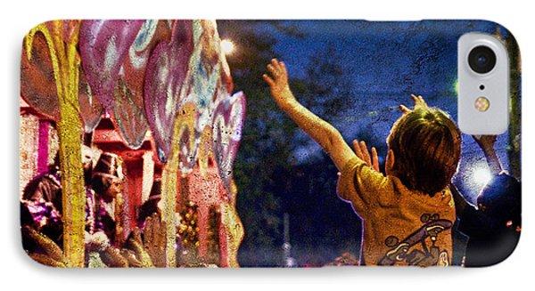 Mardi Gras At Night IPhone Case