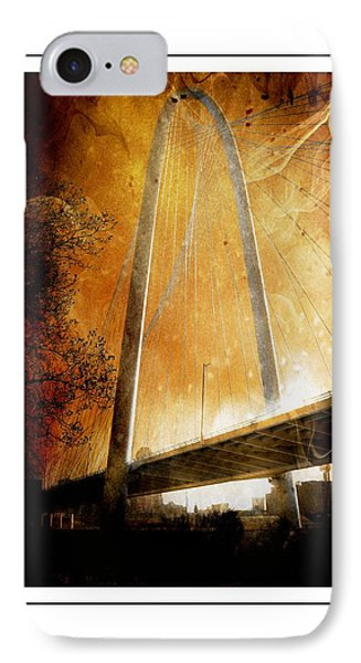 Margaret Hunt Hill Bridge Dallas Texas IPhone Case