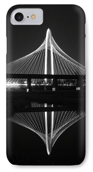 Margaret Hunt Hill Bridge Reflection IPhone Case