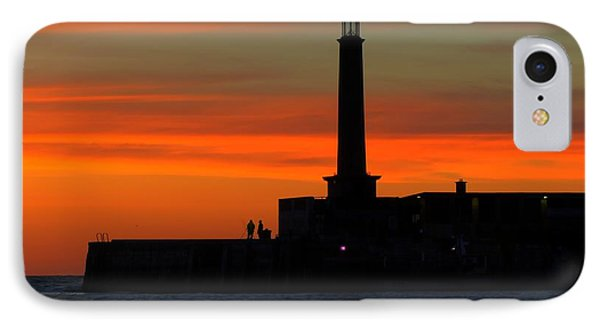Margate Pier Sunset IPhone Case