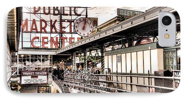Market Center IPhone Case