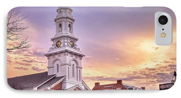 Market Square Rooftops IPhone Case