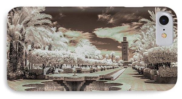 Marrakech - La Koutoubia IPhone Case