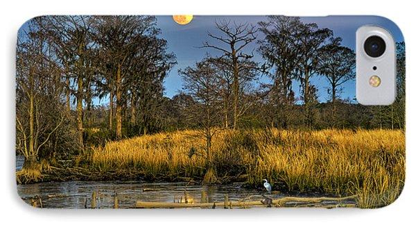 Pawleys Island Marsh Moon IPhone Case