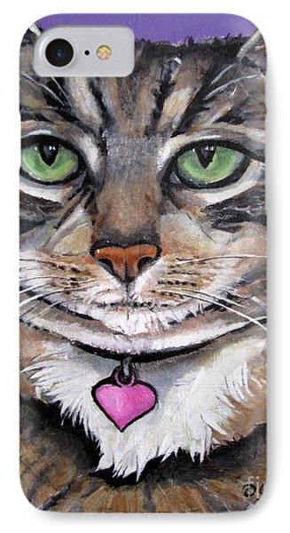Marvelous Minnie The Gallery Cat IPhone Case