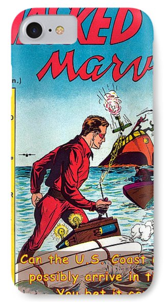 Masked Marvel And The Coast Guard IPhone Case