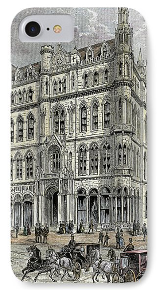 Masonic Temple Opened In 1867 IPhone Case