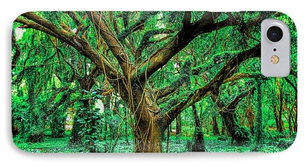 Maui Tree IPhone Case