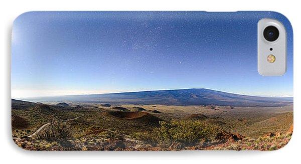 Mauna Loa Moonlight Panorama IPhone Case