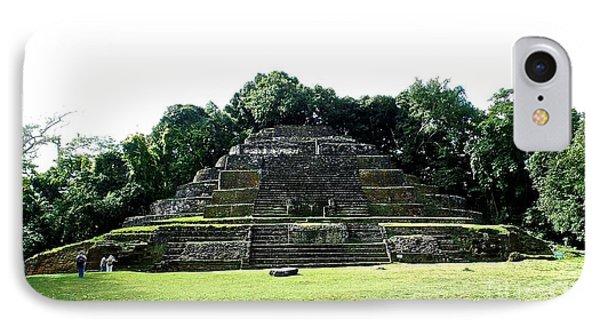 Mayan Temple Belize Lamanai IPhone Case