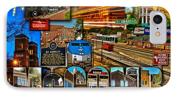 Mccomb Mississippi Postcard 2 IPhone Case