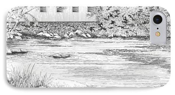 Mckenzie River Covered Bridge IPhone Case