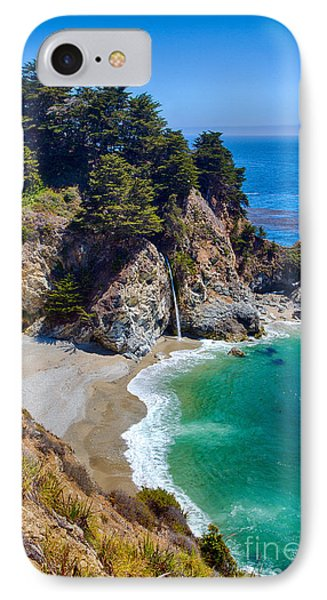 Mcway Falls At Julia Pfeiffer Burns State Park IPhone Case