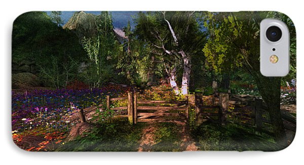 Meadow Gate IPhone Case