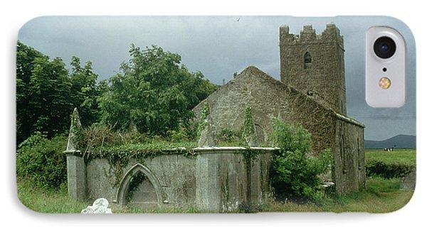 Medieval Church And Churchyard IPhone Case
