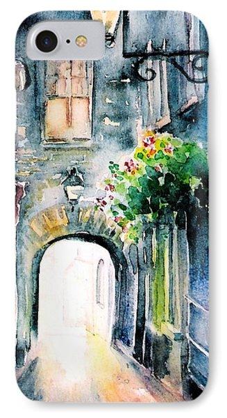 The Butter Slip  Medieval Street Kilkenny I IPhone Case