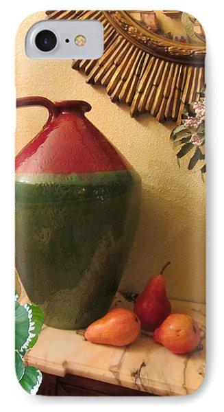 Mediterranean Juicy Snack IPhone Case