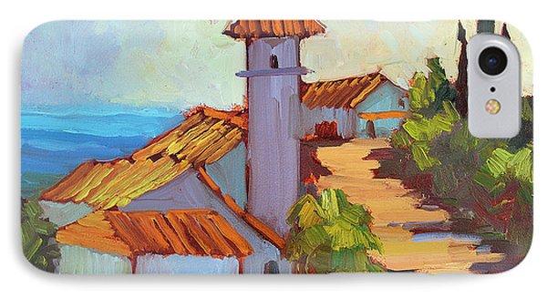 Mediterranean Village Costa Del Sol IPhone Case