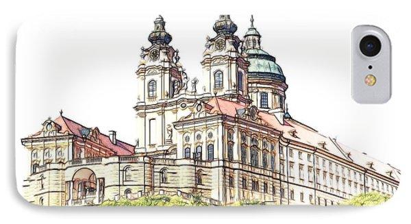 Melk Abbey In Lower Austria IPhone Case
