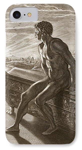 Memnons Statue, 1731 IPhone Case