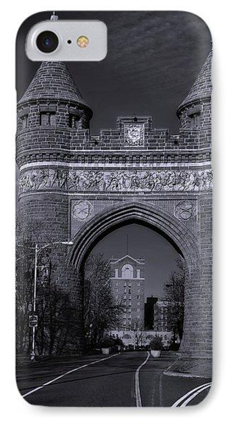 Memorial Arch Hartford Connecticut IPhone Case