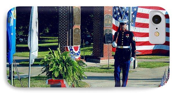 Memorial Day Honor Guard IPhone Case