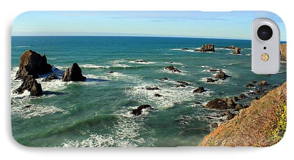 Mendocino Rocks IPhone Case